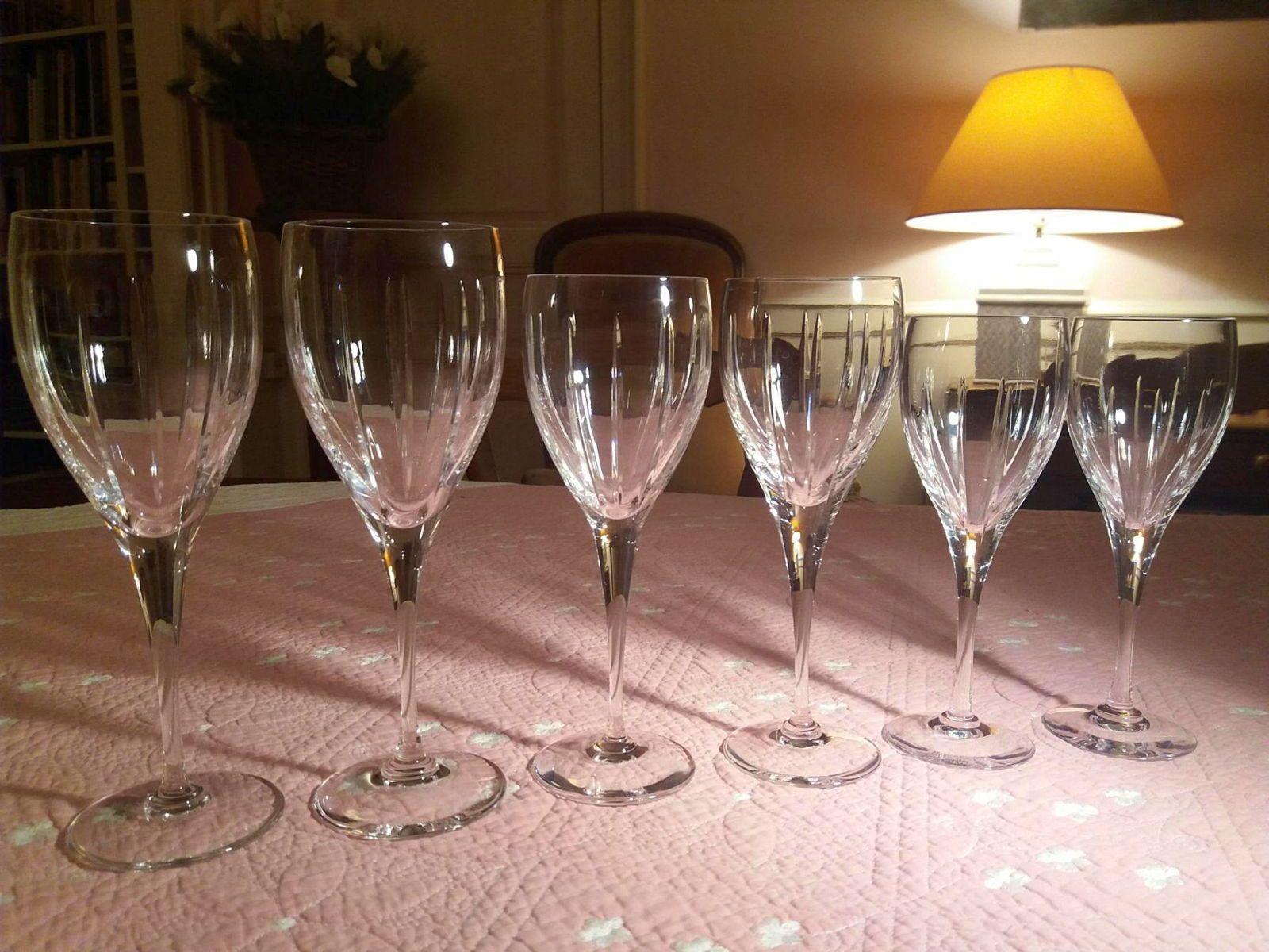 """Vends service verres Cristal de Sèvres """"Corinthe"""""""