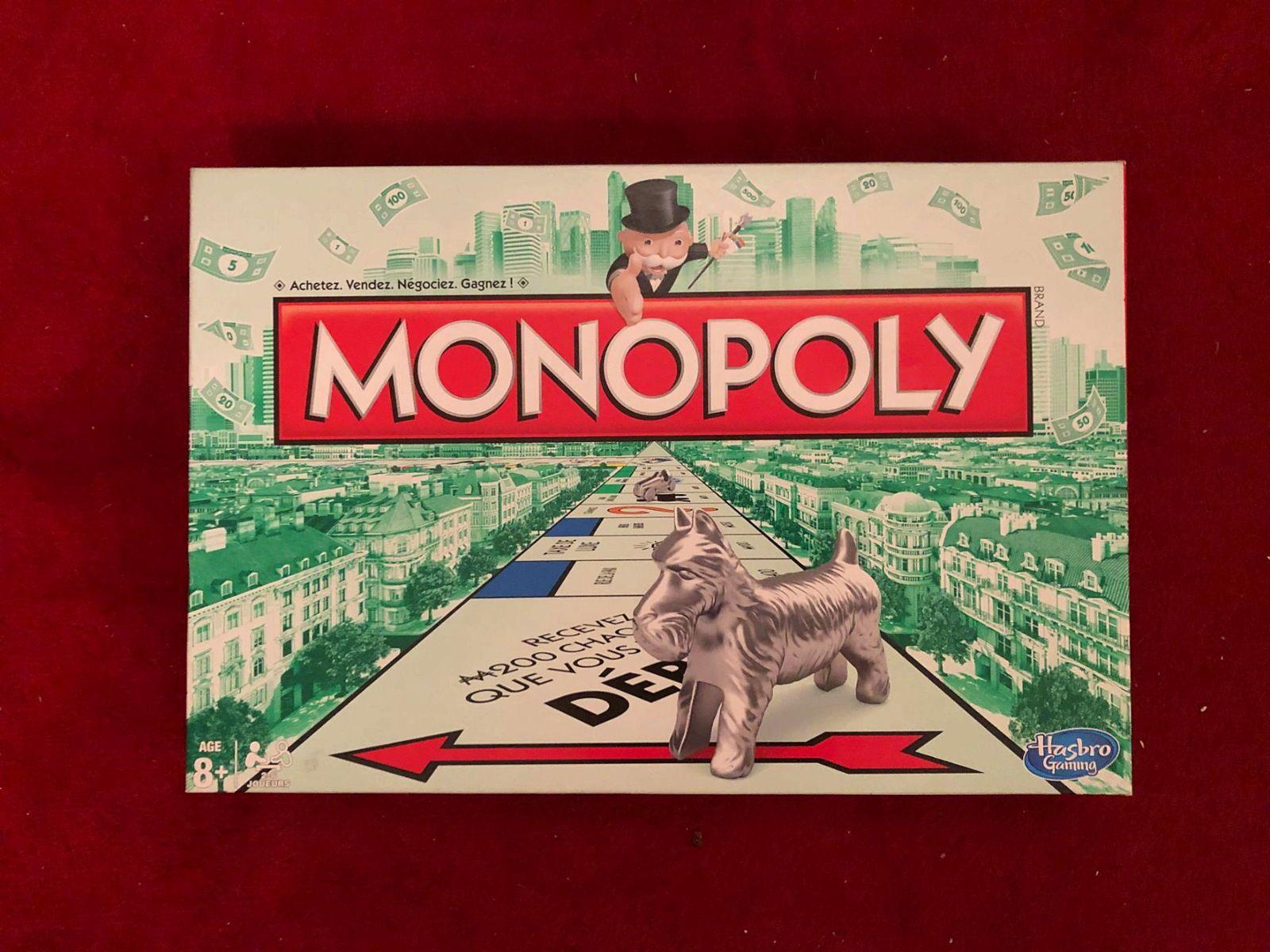 Vends jeu de société Monopoly