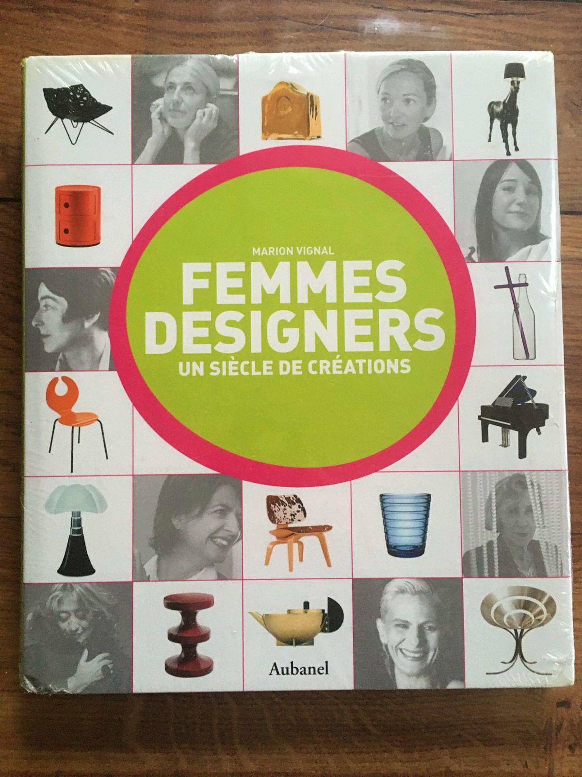 Vends superbe livre neuf: Femmes designers de Marion Vignal