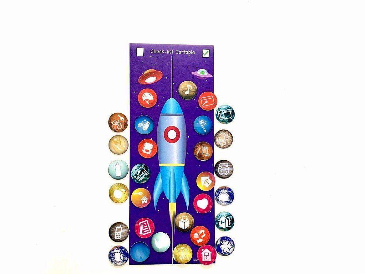 Vends Tableau des Routines enfant neuf Montessori checklist cartable