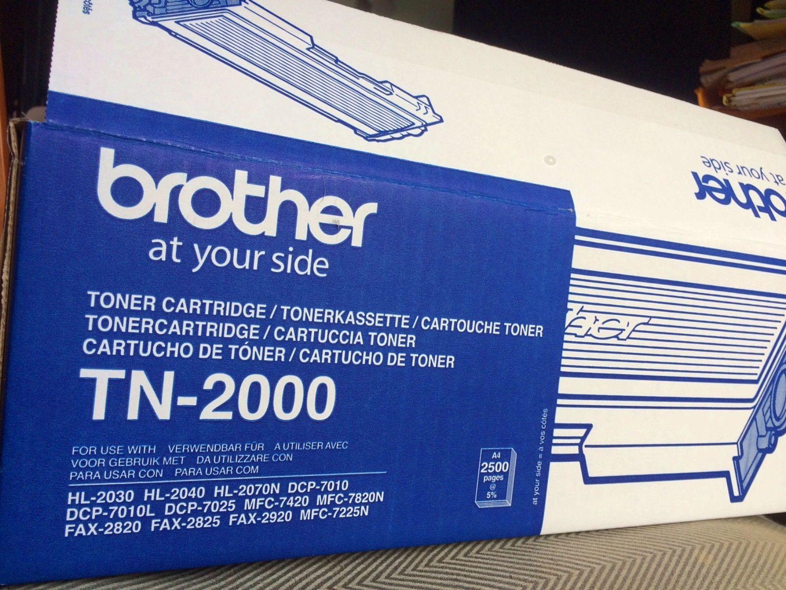 Vends toner TN 2000pour imprimante Brother