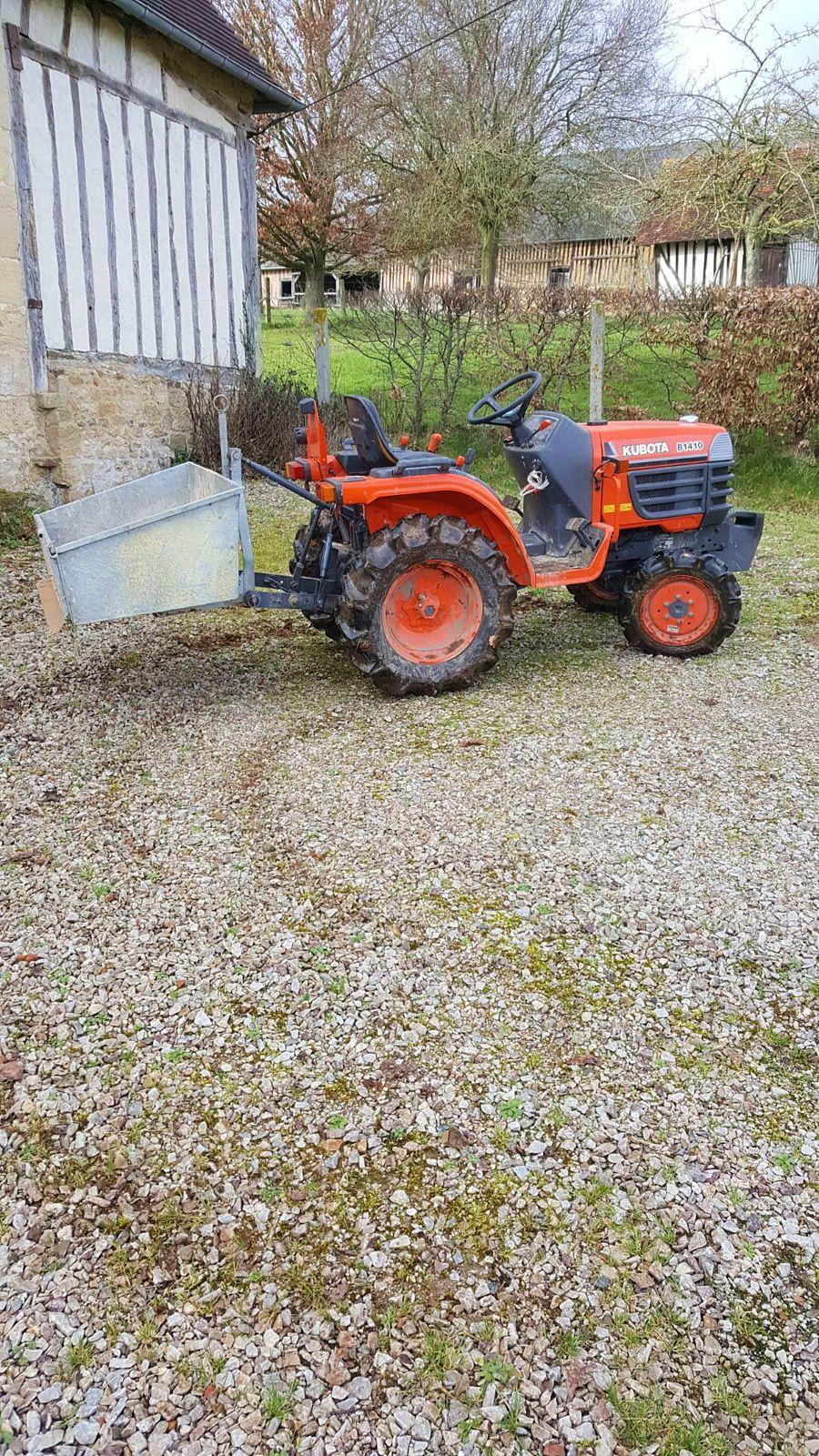 Vends tracteur Kubota diesel 4x4