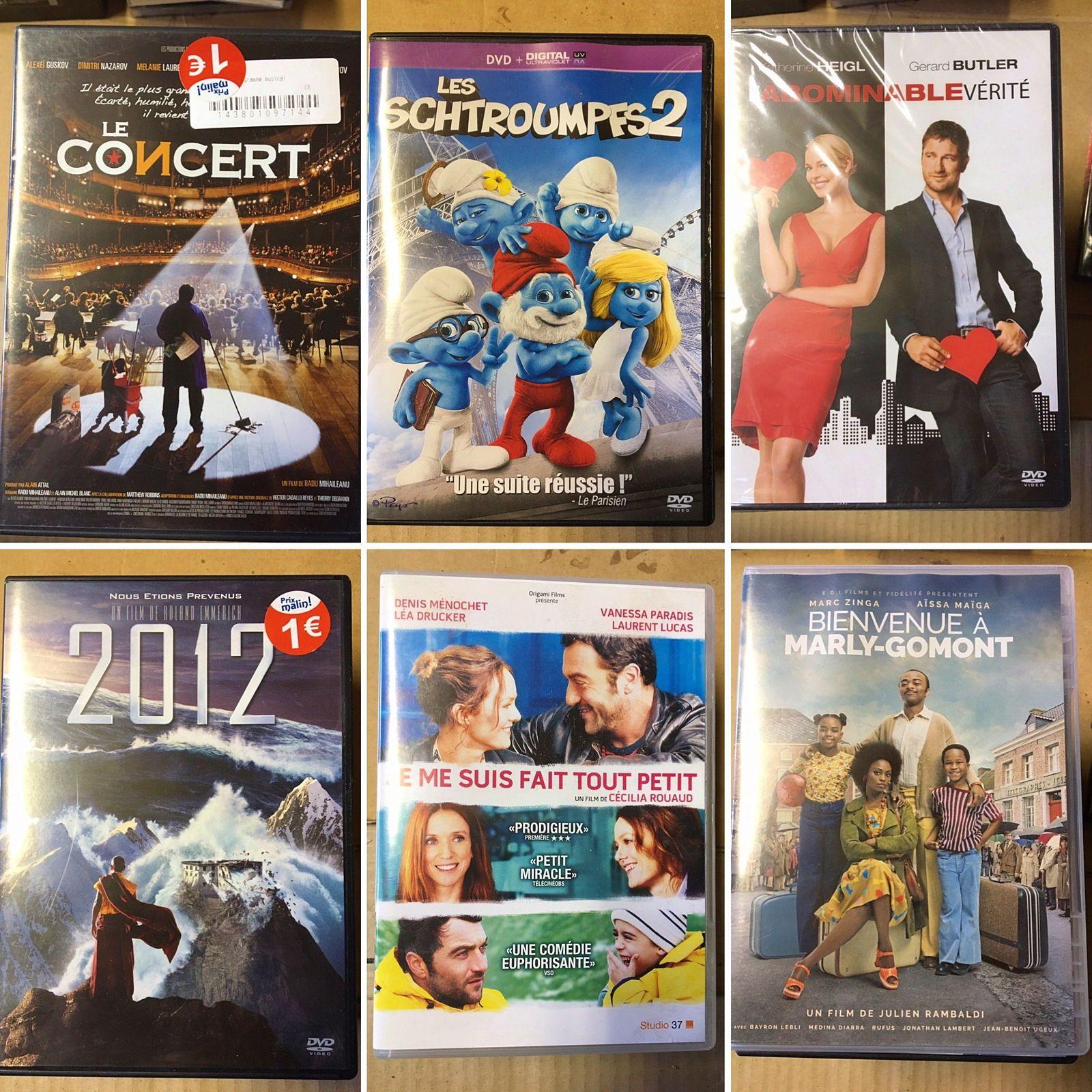 Vends DVD variés