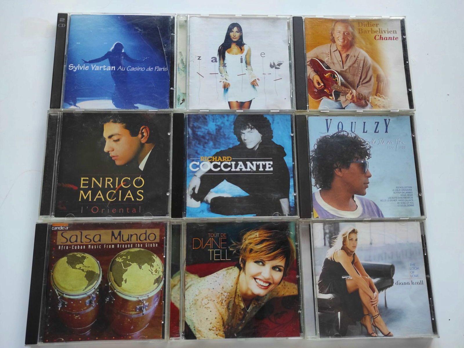 Vends CD variété française et musique classique