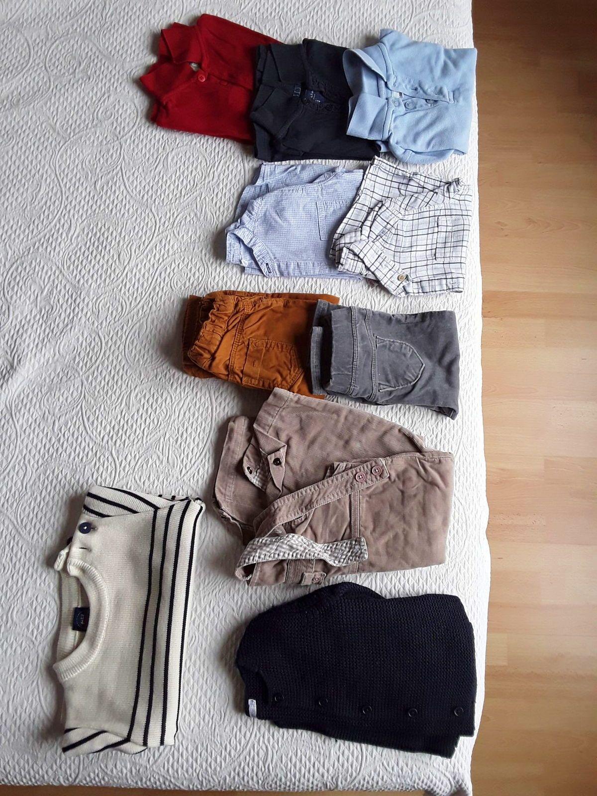 Vends lot vêtements hiver garçon taille 18mois