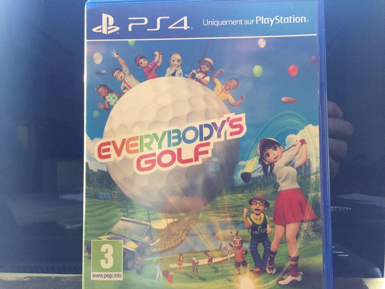Vends Jeu Vidéo PS4- Everybody's Golf