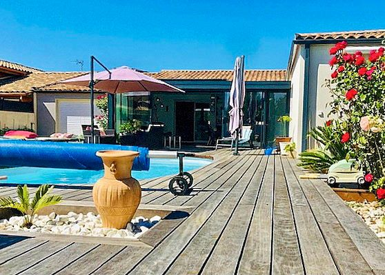 Vends villa de 220m² 7pièces de plain pied, Juvignac (34)