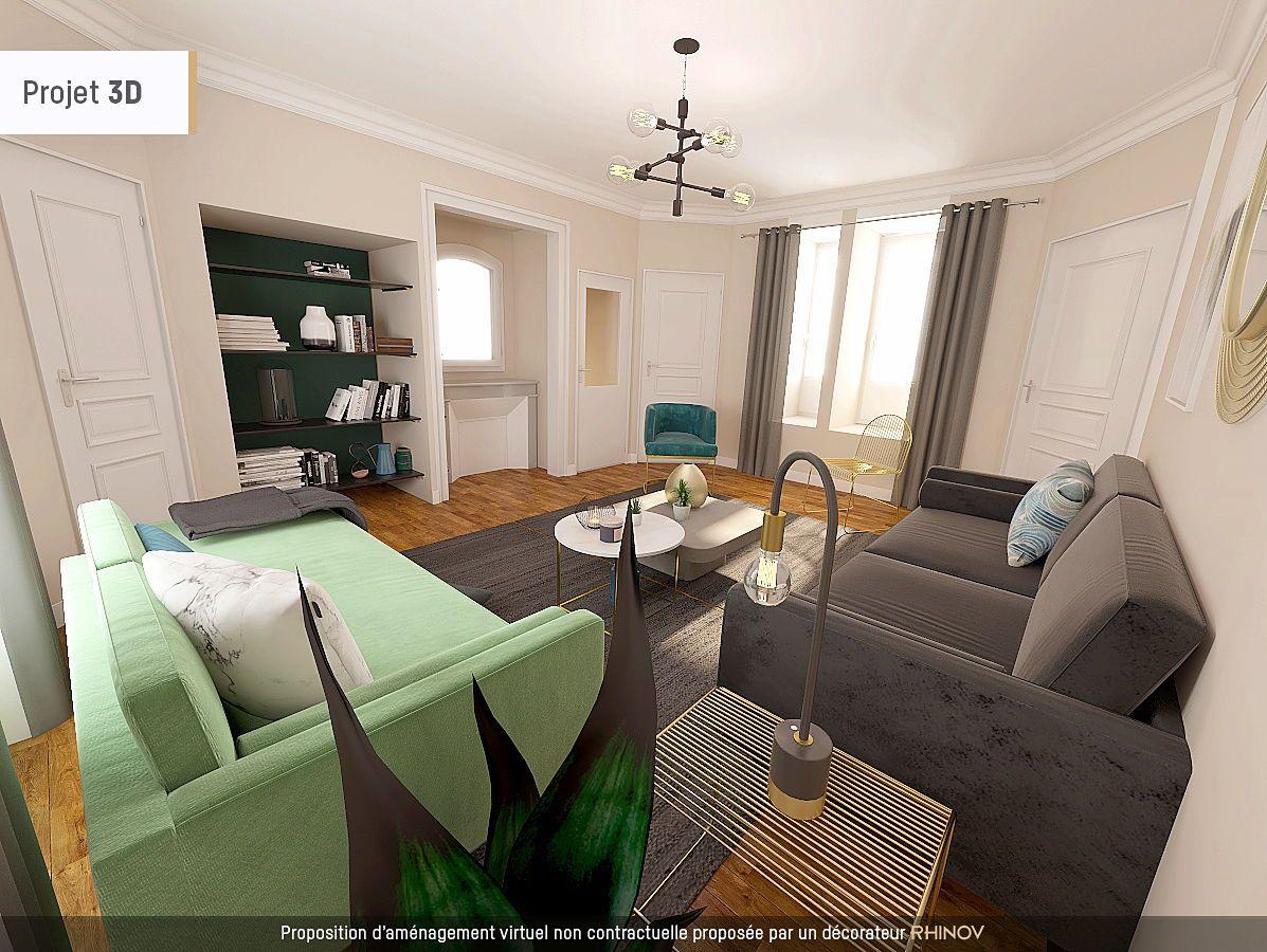 Vends 5chambres 183m² Chamalières (63), duplex dans villa de prestige