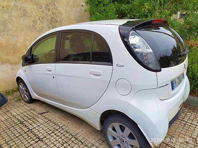 Vends voiture électrique Citroën C-Zero, blanc, 2016, 18000km
