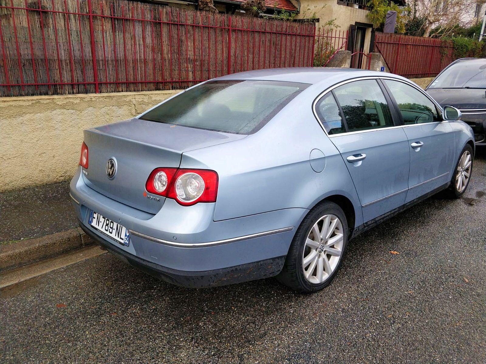 Vends Volkswagen Passat 5places, diesel, 140ch, 2006, 108200km