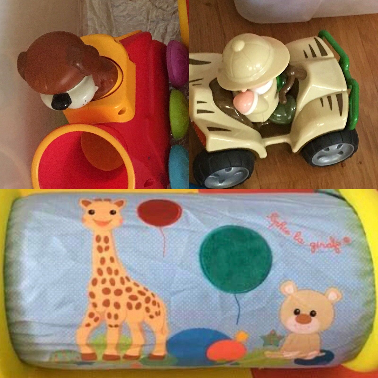 Vends jouets enfants à partir de 6mois