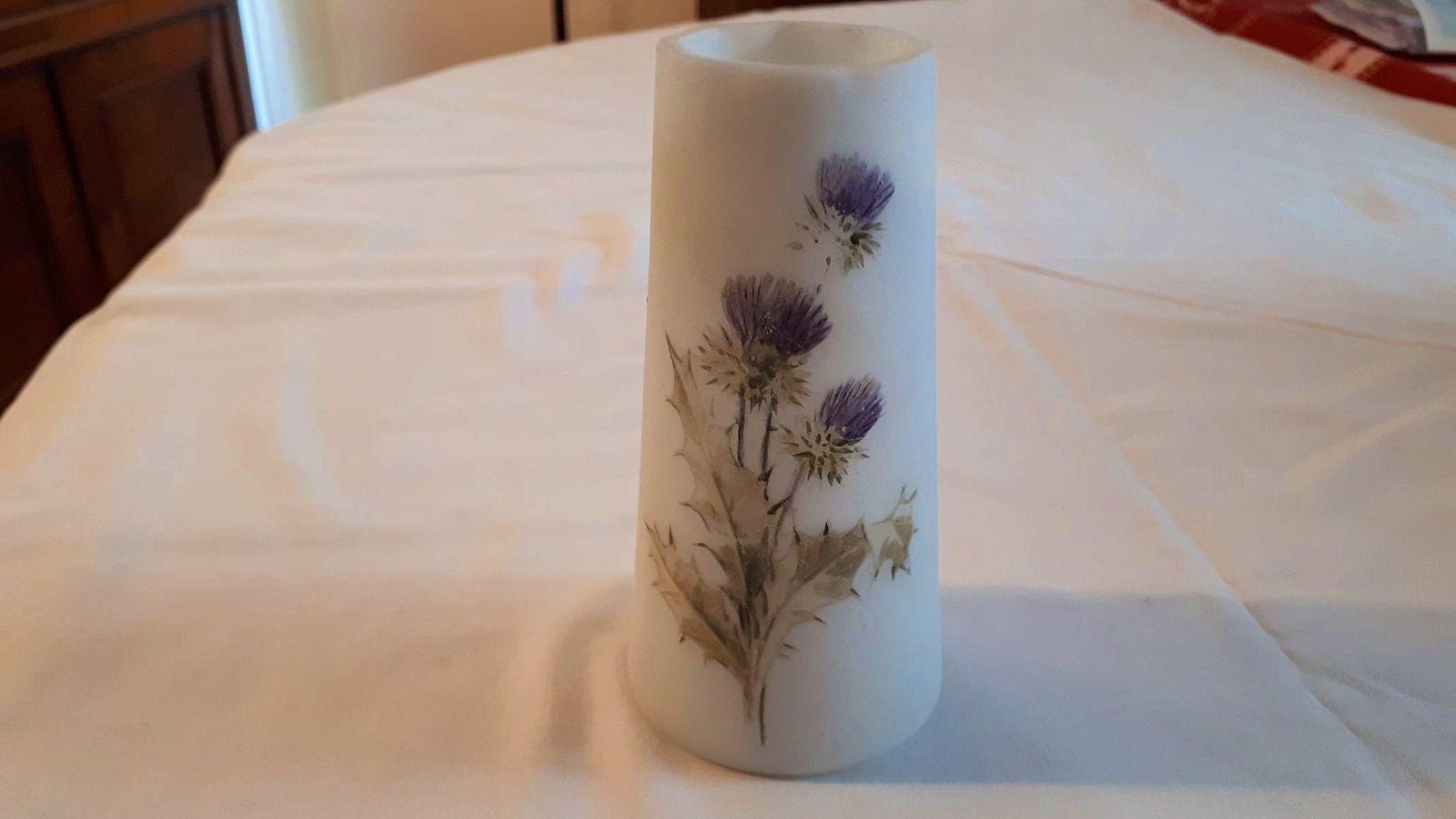 Vase pate de verre DOLHAIN WIRTHS