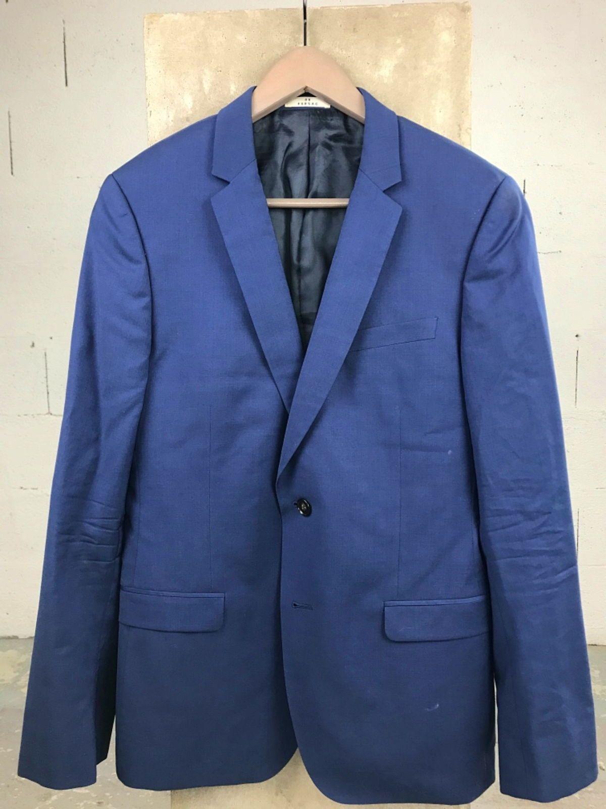 Veste de costume De Fursac bleu roi taille M