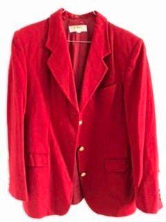 Vends Veste femme Jodhpur rouge taille 40