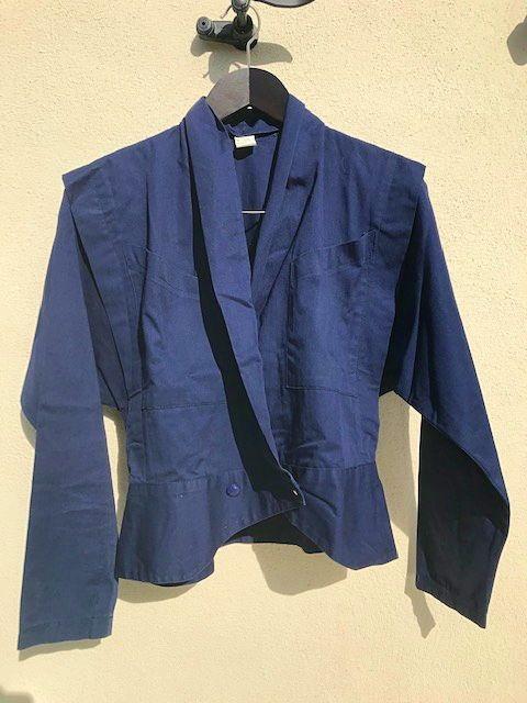 Veste vintage bleu 40- Taille M