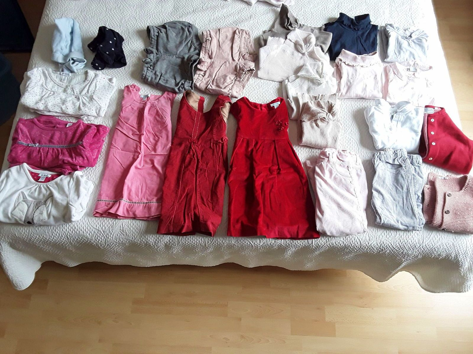 Lot vêtements hiver fille taille 3ans