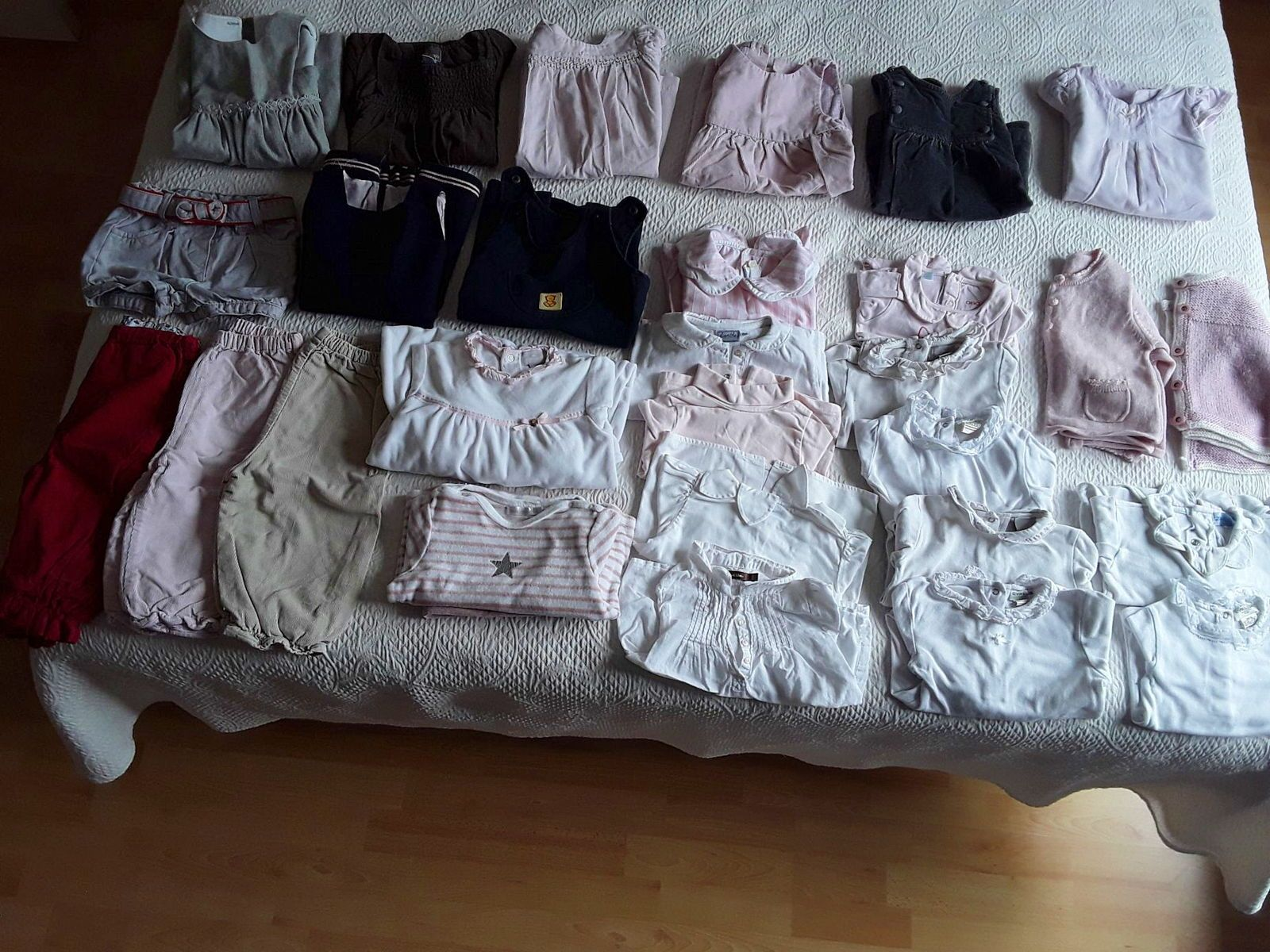 Lot vêtements hiver fille taille 18mois