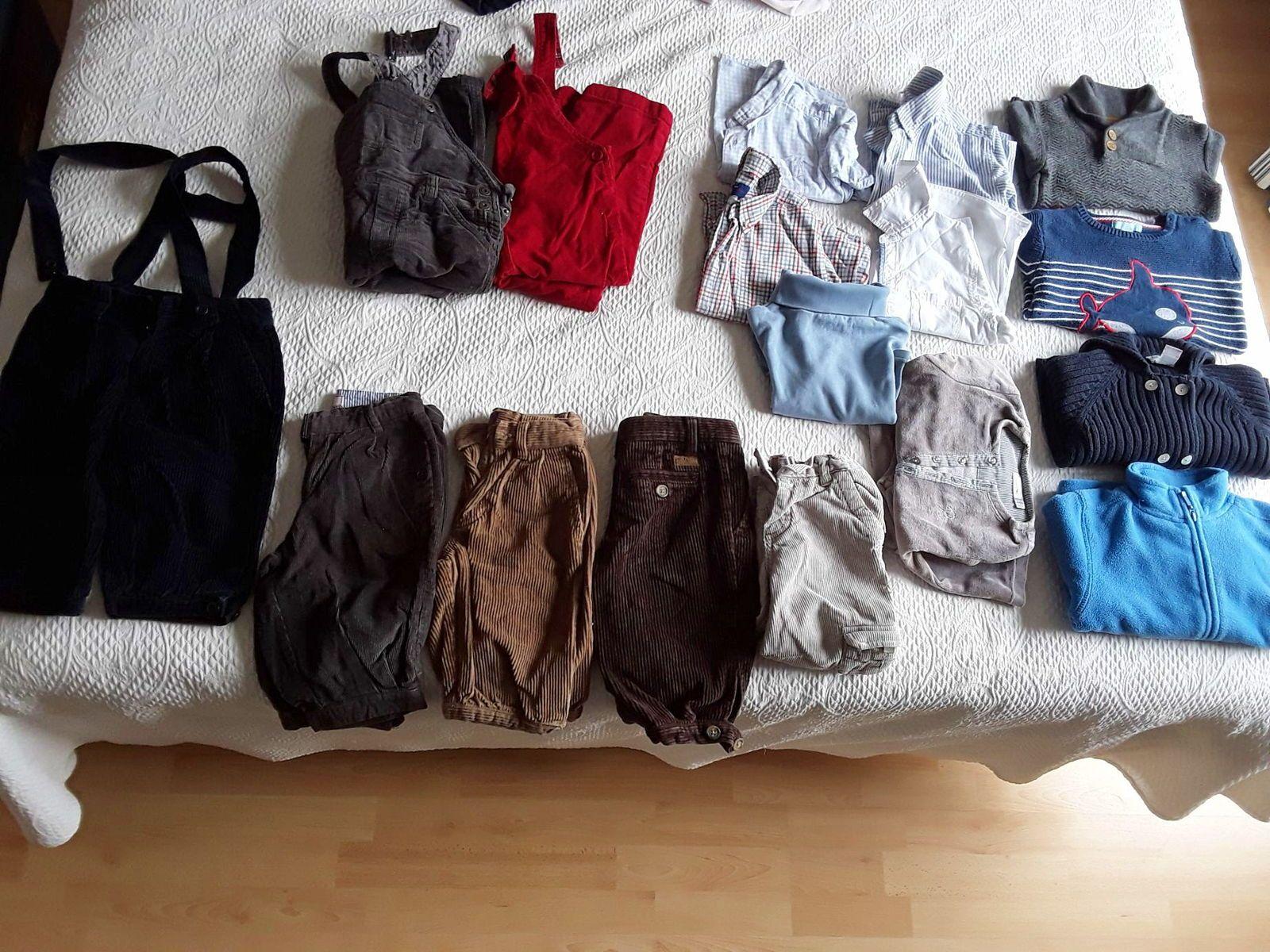 Lot vêtements hiver garçon taille 2ans