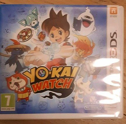 Jeu 3ds yo-kai watch